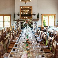 table seating for wedding inside centennial
