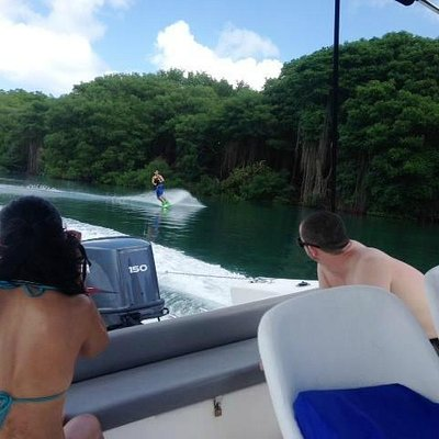 Join us for some wake boarding action!