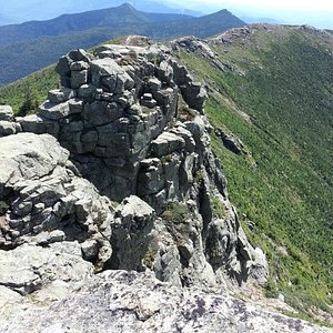 Beautiful ridge on top