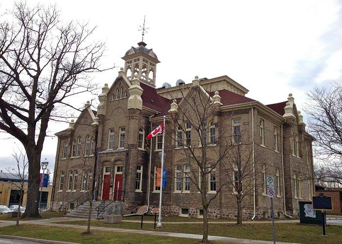 Aurora Cultural Centre located in the historic public school house