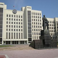 The Lenin Statue in Independence Square