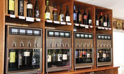 Self-Serve Wine Tasting Machines!