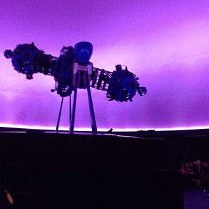 Proyección en el Planetario de Bogotá