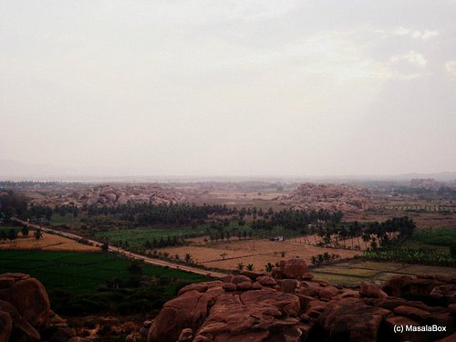 View from Malyavantha hill