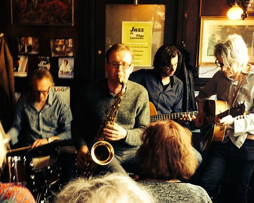 Jazz on a Sunday afternoon at Cafe Welling, Amsterdam