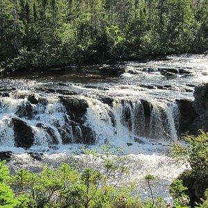 Gros Morne Bakers brook falls
