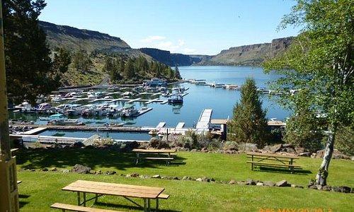 Lake Billy Chinook marina