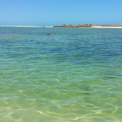 Blowholes beach island