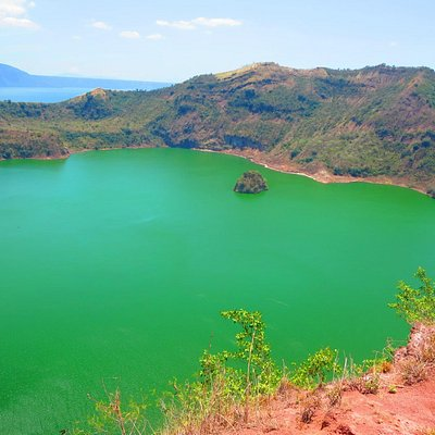 Taal Volcano Crater