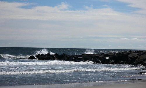 Hereford Inlet and Atlantic Ocean - North Wildwood