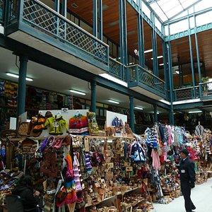 Die alte Markthalle in Valdivia