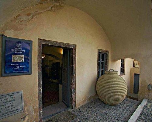 Είσοδος Ναυτικού Μουσείου Οίας