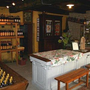 la boutique dans l'ancienne maison familiale
