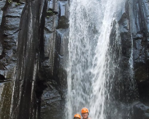 Pit Stop at the Waterfall
