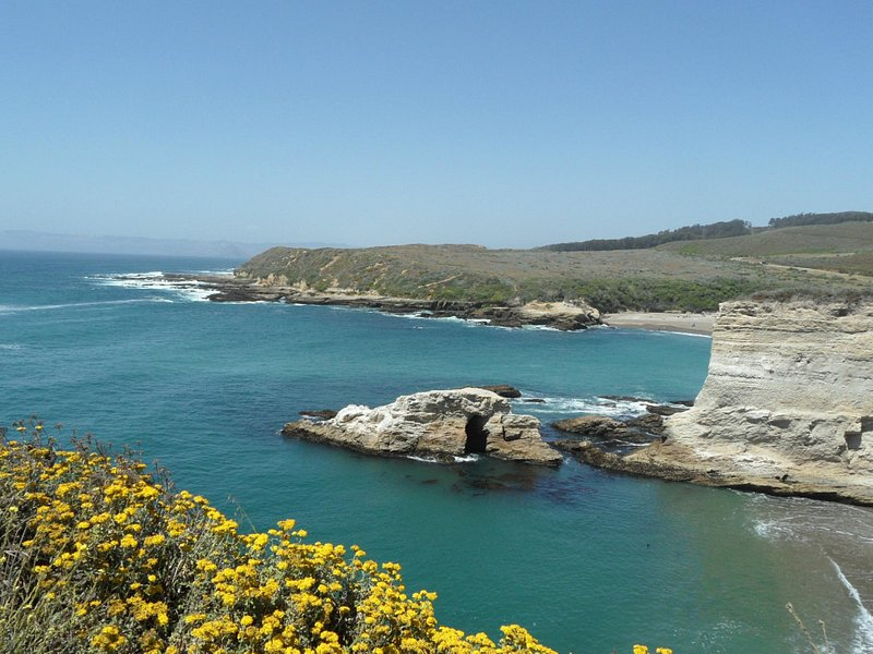 View from the cliff walk