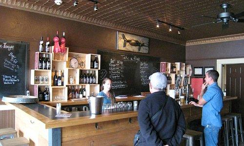Great little wine bar.  Fabulous beer!