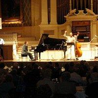 Laszlo Gardony Jazz Quartet at Mechanics Hall