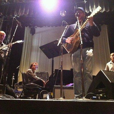 Soundcheck: John Scofield (g), Laszlo Gardony (p), Doug Wamble (g), Jim Whitney (b)