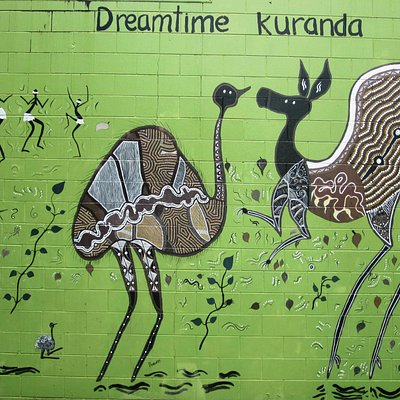 gallery feature wall - Kuranda dreaming