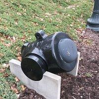 8 inch Civil War mortar