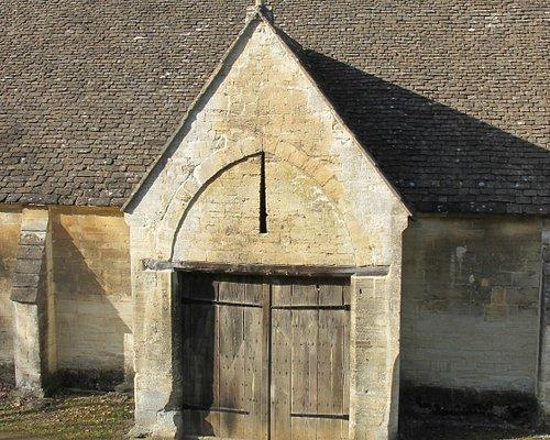 One of the huge doors