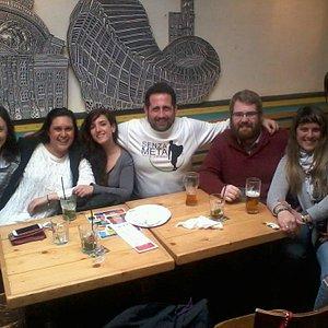 il primo tour internazionale con irlandesi, venezuelani, brasiliani ed italiani :)