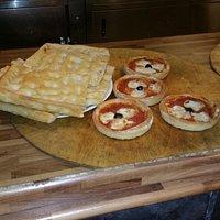 focaccia e pizzette