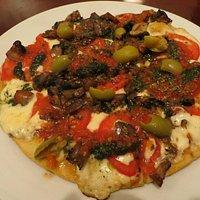 Deliciosa Pizza de vegetales
