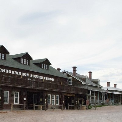 Fort Hays Old West Town & Dances with Wolves Movie Set