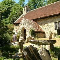 St Boniface old Church, Bonchurch, IOW