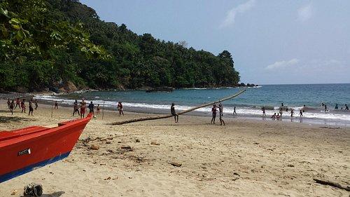 Praia Micondó, São Tomé.