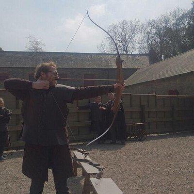 Archery at Winterfell!
