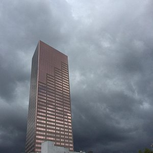 Rain clouds approaching.