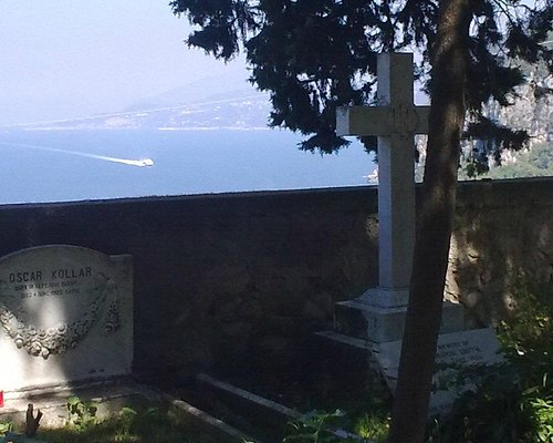 View from cemetery