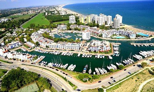 Panoramica di portoverde