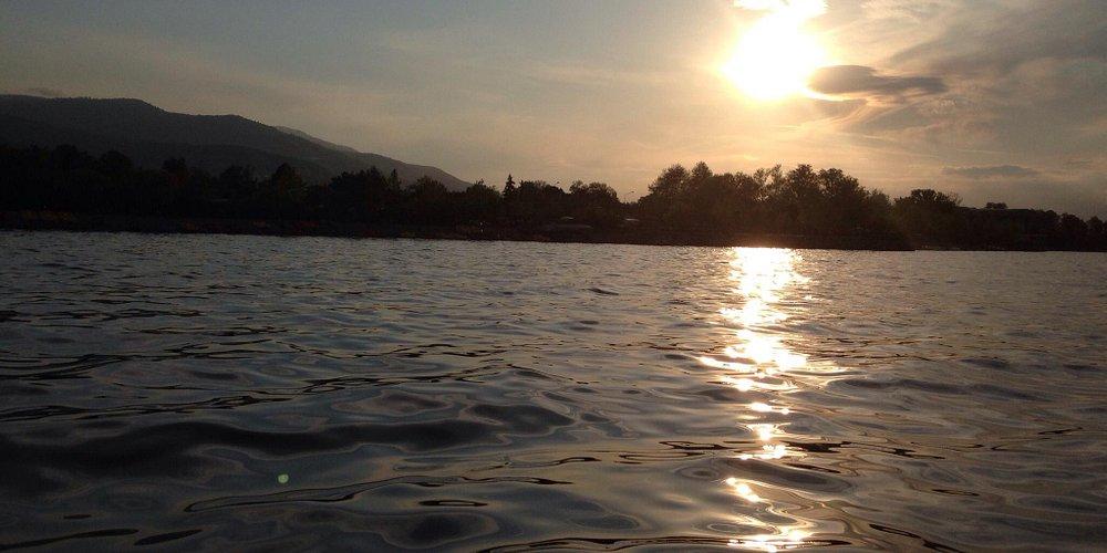 Sunset time at Sapanca lake
