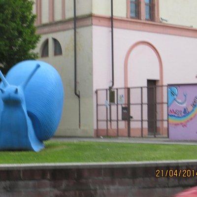 Il lumacone blu
