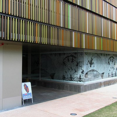 Anthropology Museum entrance