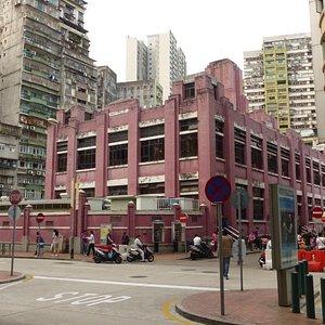 Red Market building in Macau