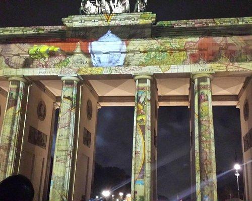 El ícono de la ciudad de Berlín, la puerta de Brandenburgo