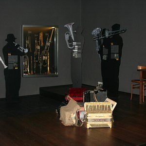 Una delle sale espositive del Museo
