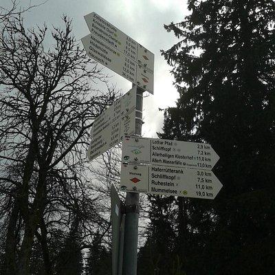 Itinéraires pédestres