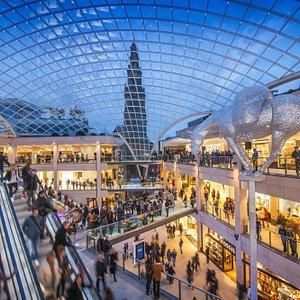 The Trinity Leeds main atrium