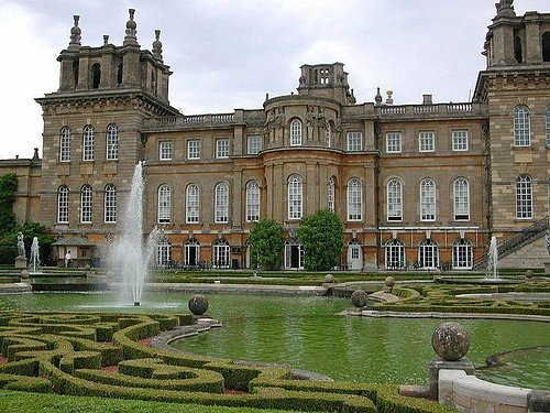A very small section of Blenheim Palace