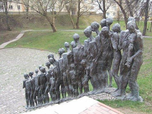 The Pit memorial, Minsk.