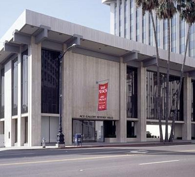 Exterior of Ace Gallery Beverly Hills