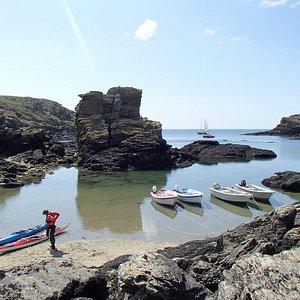 Halte à Port St Nicolas, île de Groix
