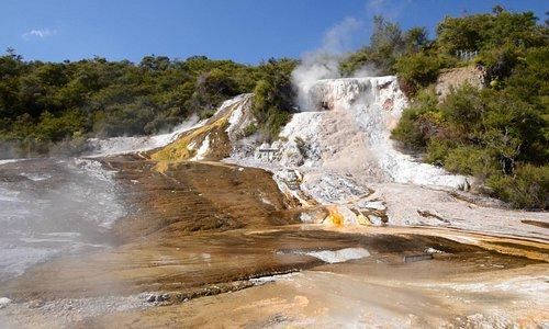See stunning silica terraces at Orakei Korako