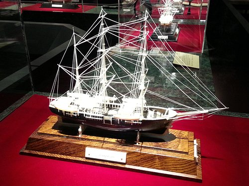 Example of one of the hundreds of ships