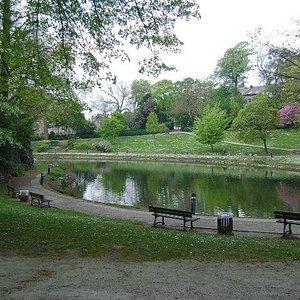 Parc Louise - Marie, Namur, Bélgica.
